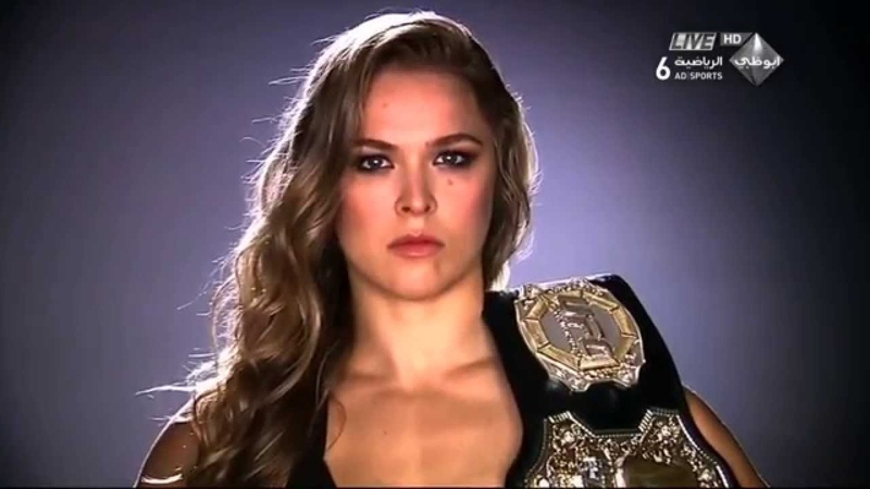Epic Montage RONDA ROUSEY - Highlight