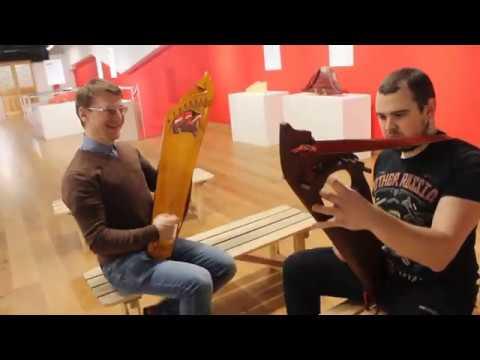 Уроки игры на гуслях в Музее русских гуслей и китайского гуциня в Москве в Сокольниках