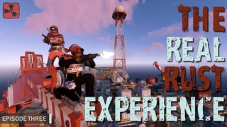 VANILLA | TRIO | RAID W BOX OF HAZMATS AND MUCH MORE - EPISODE THREE OF THE REAL RUST EXPERIENCE