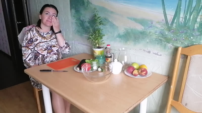 КУЛИНАРНЫЙ МАСТЕР КЛАСС 🥗Тёплый салат и фруктовый чай ☕