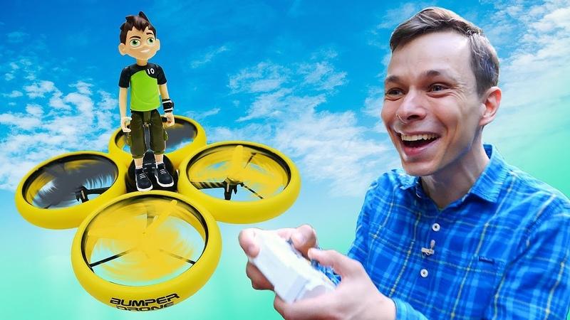 Видео для детей крутые интерактивные игрушки Дрон с камерой HD на радиоуправлении Летай и снимай