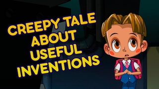 Masha's Spooky Stories 👻 - Creepy Tale About Useful Inventions 🤖 Spooky tales for children