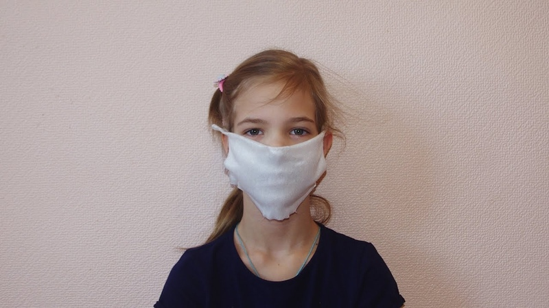 Как сделать маску для лица своими руками без шитья за 1 минуту?