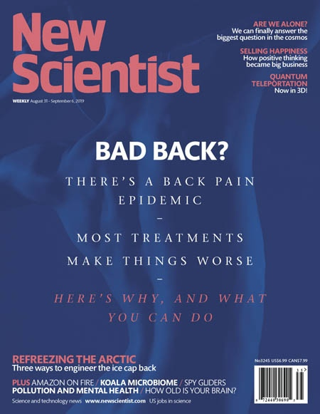 2019-08-31 New Scientist International Edition