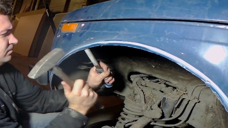 Резка арок по 31 колеса на ниве синий фалос серия 2 без сварки