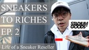 Sneakers To Riches Ep 2 Stadium Goods LOST my YEEZYS OW Air Force 1 Restock Nike FOG Live Cop
