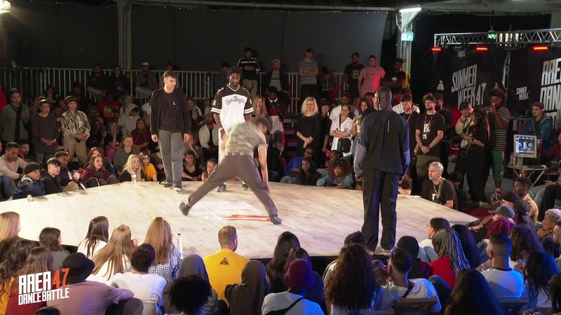 AREA 47 Dance Battle 2019 I 2 VS 2 SEMIFINAL 2 ROBOZEE BEN VS THE WOLFER SKYCHIEF