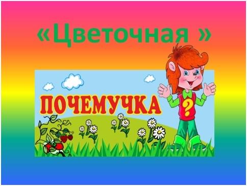 Познавательно – игровая программа «Цветочная почемучка», изображение №1