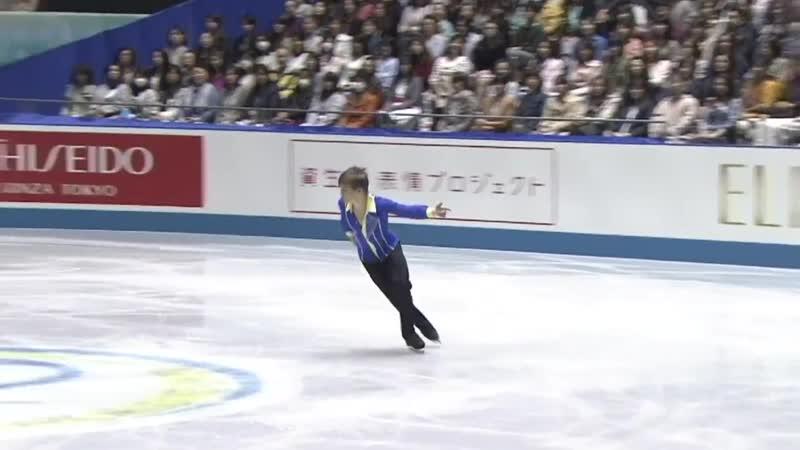 Mikhail Kolyada 2017 ISU World Team Trophy in Figure Skating SP Alternative Space Just Blue