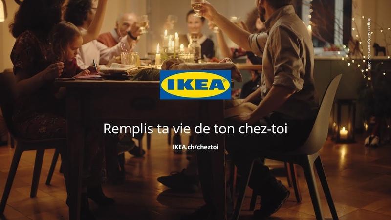 IKEA c'est ensemble que l'on profite le mieux de son chez soi