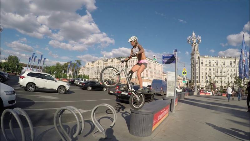 Urban biketrial Russia 2018
