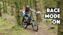 Race Mode On - Joe Breeden races hard his local DH track 2020