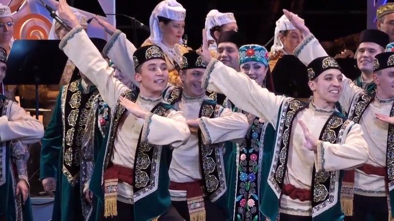 Тезмә Государственный ансамбль песни и танца Республики Татарстан Декабрь 2017 год
