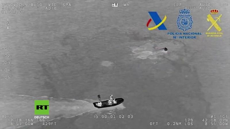 Mehrere Tonnen Kokain Spanischer Polizei geht erstes Drogen U Boot aus Übersee ins Netz