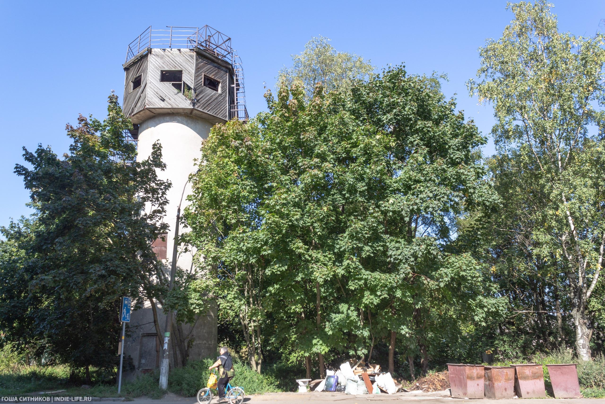 Водонапорная башня Шлиссельбург