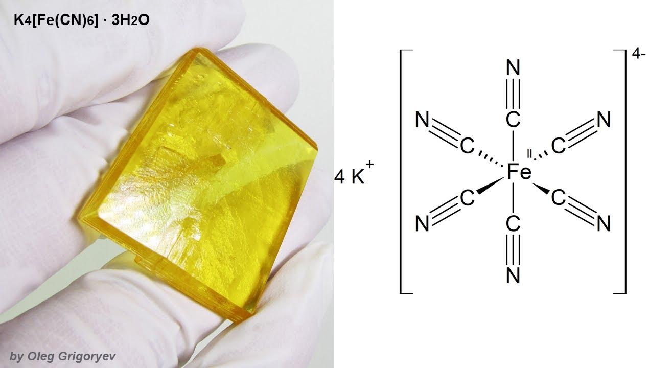 Цианид в соли или мракобесие в химии