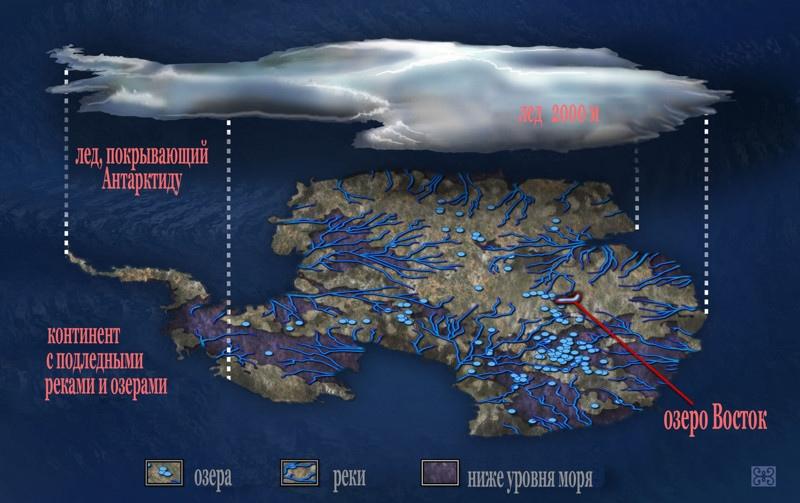 Что находится подо льдами Антарктиды, изображение №10