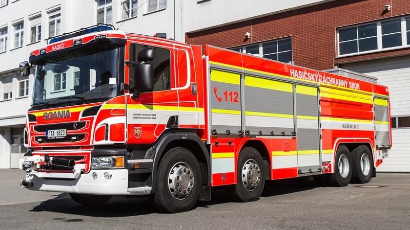 POŽÁ Osmikolové kombinované hasicí automobily Scania nahradí u HZS MSK dosluhující Tatry 815