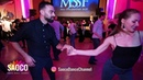 Talal Benlahsen and Edyta Czagowiec Salsa Dancing at Magic Slovenian Salsa Festival 20.01.2019