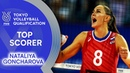Nataliya Goncharova stepped up once more! | Top Scorer | Volleyball Olympic Qualification 2019