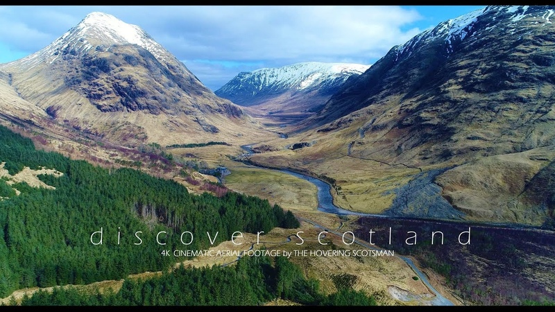 DISCOVER SCOTLAND Aerial Showreel 4K Cinematic Drone Footage