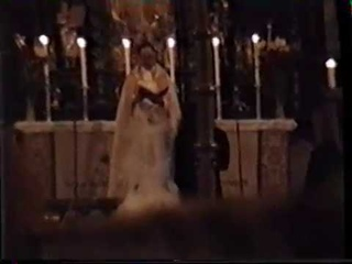 Yngwie Malmsteen - his wedding with Amber Dawn Landin in Stockholm 26-12-1993