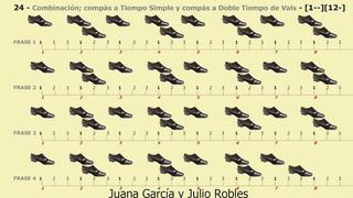 Los Ritmos del Tango - 24 - Combinacin comps Tiempo Simple y a Doble Tiempo de Vals 1--12-