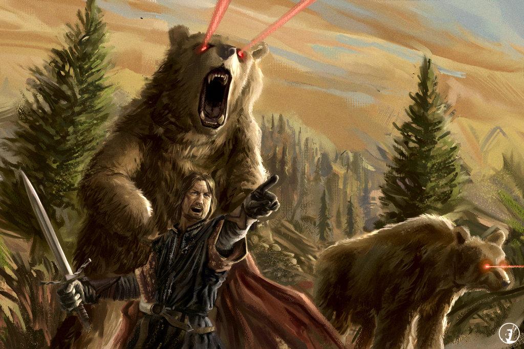 этого бог превращающийся в медведя с картинками для
