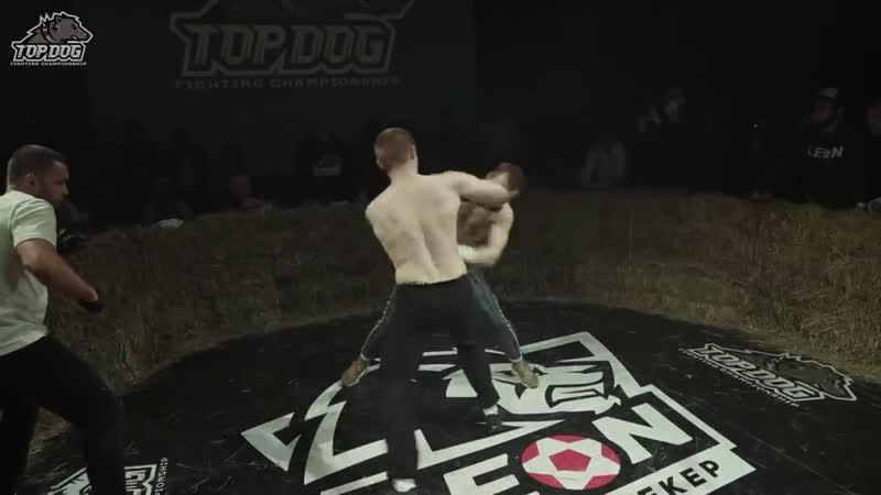 TopDog TDFC3 Тима Золотой Мусаев vs. Иван Бульдозер Савин-