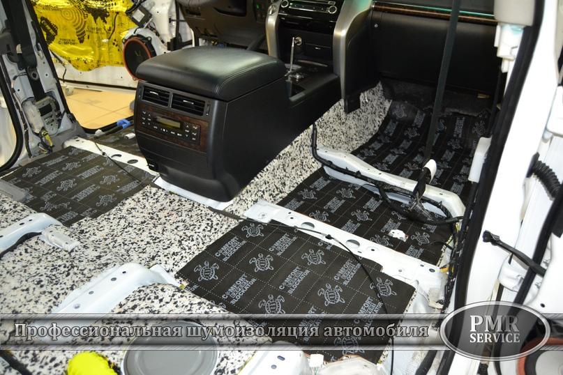 Комплексная шумоизоляция Toyota Land Cruiser 200, изображение №22