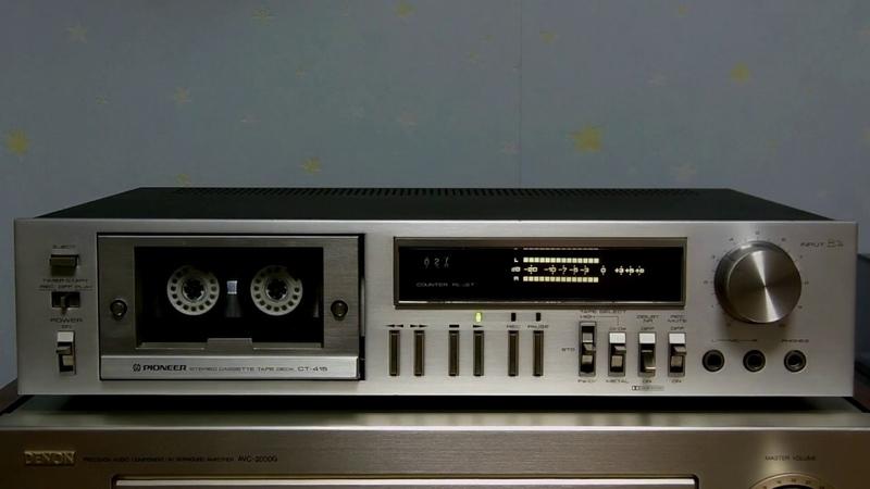 PIONEER CT 415 Vintage cassette deck