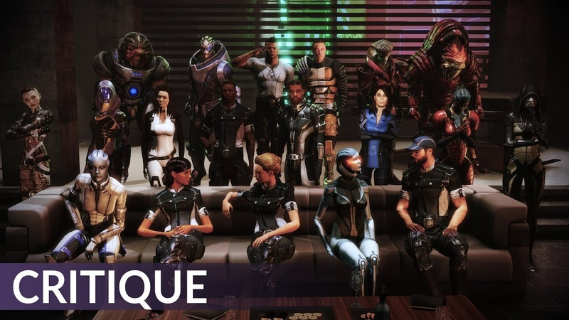 Mass Effect 3 Critique and a defense of the ending