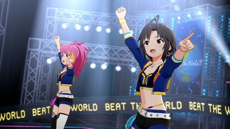「アイドルマスター ミリオンライブ! シアターデイズ」ゲーム内楽曲『Beat the Worldr』MV