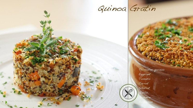 Tricolor Quinoa Gratin Bruno Albouze The Real Deal