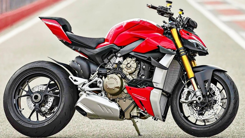 😈 Ducati Streetfighter V4 2020 Panigale V4 для Города 💪