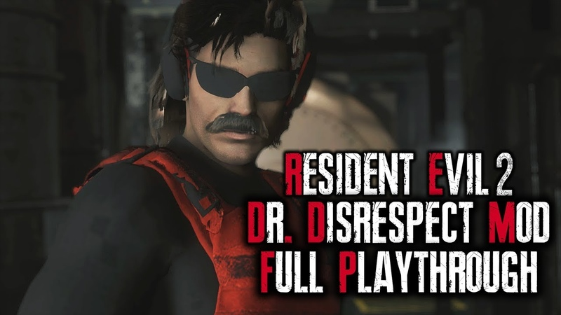 Resident Evil 2 Remake Leon S Kennedy Dr Disrespect Outfit PC Mod