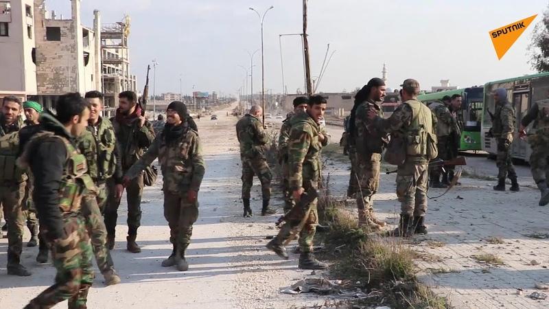سبوتنك ترصد طريق حلب غازي عنتاب الدولي بعد تطهيره من مسلحي القاعدة