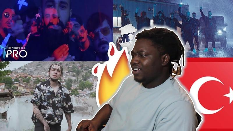FIRST TURKISH RAP REACTION feat. Sıfır Sıkıntı, M.O.B, Ezhel, Muşta Şehinşah SvA MORE!!