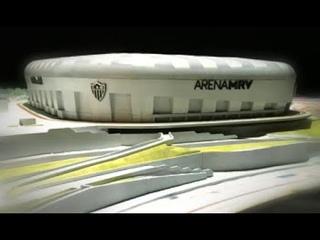 ZW Design   Arena MRV - Maquete animada com projeção mapeada