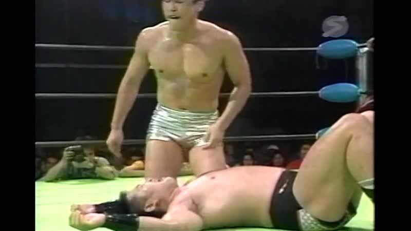 2000.08.05 - Masao Inoue/Yoshinobu Kanemaru vs. Kentaro Shiga/Naomichi Marufuji [JIP]