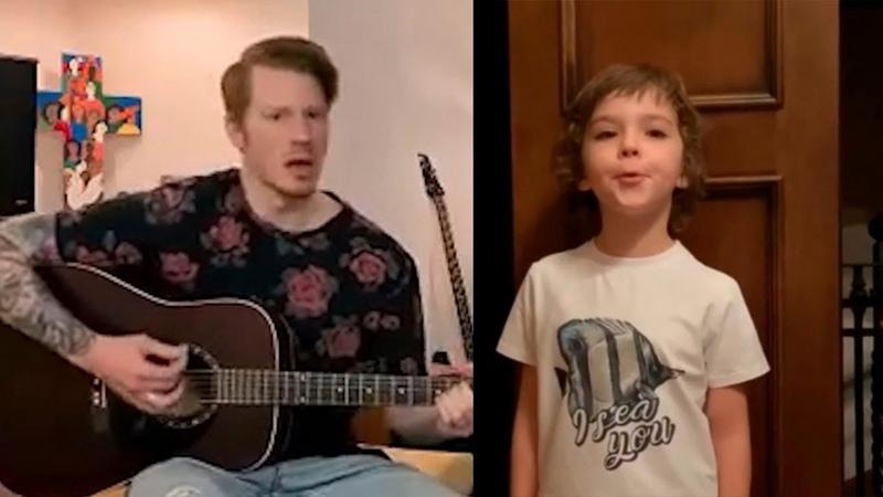 Сын и внук Пугачевой поют - Гарри Галкин и Никита Пресняков