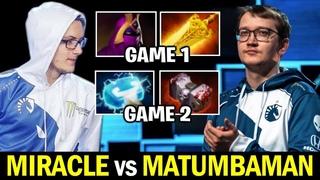 MIRACLE Random & Unexpected Pick vs MATUMBAMAN Hard Carry Dota 2