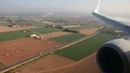 BEAUTIFUL LANDING IN PALMA! Ryanair 737 BCN-PMI