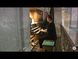 548 J. S. Bach - Prelude and Fugue in E minor, BWV 548 - Erzsbet Windhager-Gered, organ