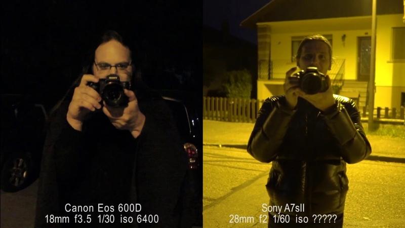 Canon 600D vs Sony A7s2 Ultimate battle low light