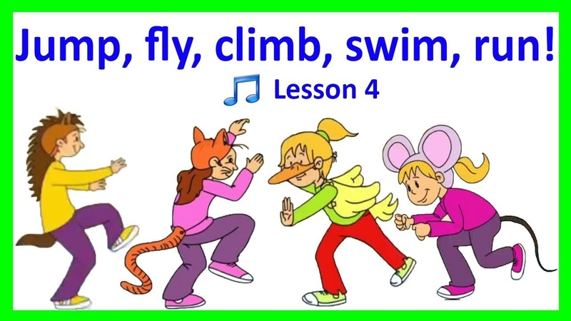 Action Verbs VOCABULARY SONG FOR KIDS English Lesson 5