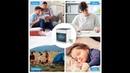 Мини кондиционер — охладитель воздуха 7 цветов светодиодный свет для дома