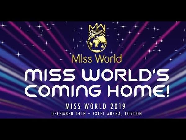 MISS WORLD 2019 Coronation Chung kết hoa hậu thế giới 2019 cổ vũ Lương Thùy Linh