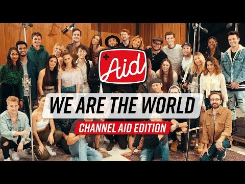 We Are The World 2018 Channel Aid with Kurt Hugo Schneider YouTube Artists