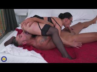 Eva May (EU) (44) - Creampie Squirting [Blowjob, Cum, Creampie, Squirting, Hardcore, MILF, Mature, 69, Orgasm]